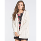 FULL TILT Cable Knit Womens Cocoon Cardigan