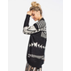 WOVEN HEART Ethnic Dolman Womens Cardigan