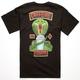 CHOCOLATE Caffeine Cobras Mens T-Shirt