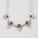 FULL TILT Triangle Stone Statement Necklace