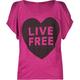 FULL TILT Live Free Girls Top