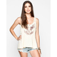 OTHERS FOLLOW Prevail Womens Lace Trim Tank