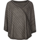FULL TILT Stripe Girls Poncho