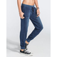 FULL TILT French Terry Washed Womens Jogger Pants