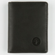 FOCUSED STPACE Matte Faux Leather Wallet