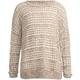 FULL TILT Stripe Open Knit Girls Sweater