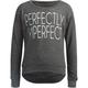 FULL TILT Perfectly Imperfect Girls Lighweight Sweatshirt