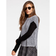 FULL TILT Color Block Womens Sweater