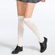 FULL TILT Pointelle Ruffle Top Womens Knee High Socks