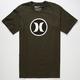 HURLEY Icon Classic Mens T-Shirt