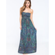 ELEMENT Belize Tube Maxi Dress