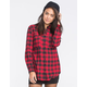 FULL TILT Oversized Lumberjack Womens Flannel