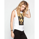 RIOT SOCIETY Gangsta Mona Womens Muscle Tank