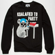RIOT SOCIETY Koalafied Mens Sweatshirt