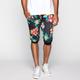 ELWOOD Floral Print Mens Cropped Jogger Pants