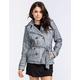YMI Marled Womens Sweater Trench Coat