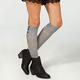 FULL TILT Button Womens Knee High Socks