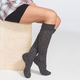 FULL TILT Marled Womens Knee High Cuff Socks