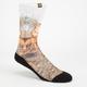 FOCUSED SPACE Elk Mens Crew Socks
