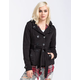 ASHLEY Double Breasted Sherpa Womens Trench Coat
