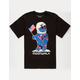 RIOT SOCIETY Moon Walk Bear Boys T-Shirt