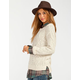FULL TILT Step Womens Cable Knit Sweater