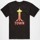 CASUAL INDUSTREES Space Town Mens T-Shirt