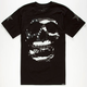 ROOK Flag Skull Mens Reflective T-Shirt