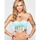 RIP CURL Sunland Fringe Bandeau Bikini Top