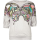 FULL TILT Butterfly Print Girls Top