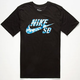 NIKE SB Dri-FIT Icon Tie Dye Mens T-Shirt