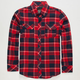 MICROS Elko Boys Flannel Shirt