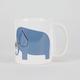 Ellie Elephant Coffee Mug