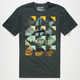 HURLEY Ghost Ship Mens T-Shirt