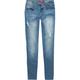 YMI Girls Destructed Skinny Jeans