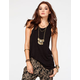 FULL TILT Essential Womens High Neck Tank