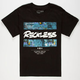 YOUNG & RECKLESS Oil Bars Boys T-Shirt