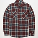 VALOR Red Stag Mens Flannel Shirt