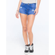 BILLABONG Memory Clean Finish Highwaisted Womens Denim Shorts