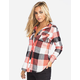 FULL TILT Buffalo Womens Hooded Flannel Shirt