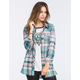 FULL TILT Womens Flannel Tunic Shirt