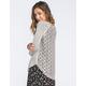 BLU PEPPER Lace Back Womens Sweater