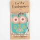 3 Pack Owl Air Fresheners