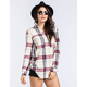 FULL TILT Oversized Womens Flannel