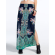 PATRONS OF PEACE Woven Maxi Skirt