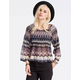 PATRONS OF PEACE Smocked Womens Top
