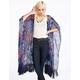 PATRONS OF PEACE Womens Long Kimono