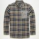 FAMOUS STARS & STRAPS Enlist Mens Flannel Shirt