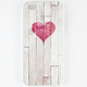 ON YOUR CASE Wooden Heart iPhone 5/5S Case