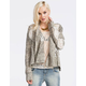 POOF EXCELLENCE Marled Womens Open Knit Wrap